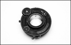"Curious Lens - Koristka Salex Anastigmat 5 2/5"" f4.5 (Lens Bubbles) Tags: lens 5 f45 25 anastigmat salex koristka"