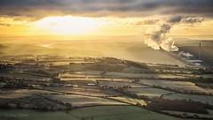 Wrekin Sunrise (Amy~~Adams) Tags: winter sunrise shropshire january telford wrekin