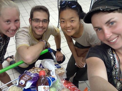 Avec la dram team, Couchsurfing, Afrique du Sud