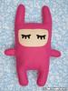 Boneco de feltro - Pink (selmakuwahara_art) Tags: cute rabbit boneco feltro coelho