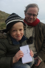 Lundy Bunny (Ruth, London) Tags: new eve bristol island landmark newyear letterboxing helicopter trust years lundy channel lundyisland hanmers