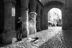 Bubbles III (* Carlus Costa *) Tags: street urban blackandwhite costa blancoynegro photography bubbles carlos vila ibiza urbana eivissa fotografa dalt carlus carlusibiza