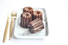 Canel de Bordeaux (TailorTang) Tags: stilllife food dessert 50mm tea pastry vanilla 5014 foodphotography canel frenchdessert patissierie caneldebordeaux