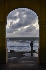 Storm Watcher (Stueyman) Tags: ocean sky water clouds zeiss waves arch sony au indianocean australia wa 24mm alpha za westernaustralia a6000