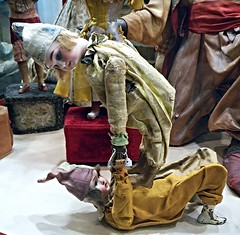 Historical dolls from 18th to 20th century - Temporary exhibition - Royal San Carlo Theatre in Naples (* Karl *) Tags: italy doll naples italians sancarlotheatre