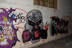 Spawn (Luso845) Tags: newyork art abandoned graffiti three paint evil warehouse gasmask spawn hudsonvalley