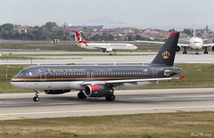 Royal Jordanian A320-200 JY-AYW (birrlad) Tags: turkey airplane airport ataturk taxi aircraft aviation airplanes amman royal istanbul international airline airbus airways airlines departure ist takeoff runway jordanian airliner departing a320 taxiway a320200 a320232 jyayw rj166
