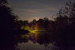 Gut Sunder um Mitternacht (hardi_630) Tags: lake dawn star see pond nacht midnight dmmerung teich starry sterne sternenhimmel mitternacht sternen starrysky gutsunder