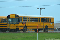 IC RE School Bus (OK) (Trucks, Buses, & Trains by granitefan713) Tags: ic international schoolbus conventional manufacturer pusher typec icce schoolbuses typed icre rearengine newbus internationalbus icbus newschoolbus