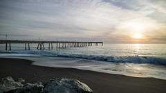 Pacifica Jetty, yet again. (Tall Guy) Tags: california sunset usa pier jetty pacifica tallguy