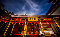 looking to heaven (Rob-Shanghai) Tags: china leica red sky temple glow shanghai buddha faith pray wide jade m240 cv12mm