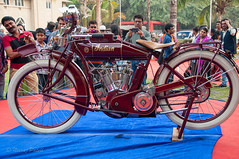 Indian Motorcycle_.jpg (NP Photo2010) Tags: india classic cars colors vintage iso200 nikon asia shape gujarat indianmotorcycle vadodara 2015 d90 manualexposure westernindia 1801050mmf3556
