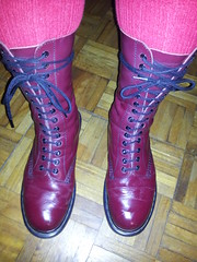 20160420_072813 (rugby#9) Tags: original red feet wool yellow socks cherry hole boots lace dr air 14 7 icon wear size stitching comfort sole doc cushion soles dm docs eyelets redsocks drmartens bouncing airwair docmartens martens dms cushioned wair doctormarten 14hole yellowstitching