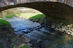 Rahay (Sarthe) (sybarite48) Tags: bridge france rio ro river fiume rivire ponte most pont brug brcke fluss kpr braye rivier nehir sarthe    rzeka       rahay puante