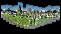 Nottingham General Cemetery (ldjldj) Tags: nottingham david cemetery general graves montage photomontage hockney joiner nottinghamshire