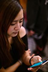 Daphne (Randy Wei) Tags: portrait music girl musicians concert tour indoor speedmaster zhongyi  mitakon