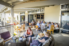 Milton Driftwood Cafe (Visit Shoalhaven) Tags: food sun holiday coffee relax coast cafe village tea balcony south country style visit driftwood milton verandah quaint refurbished shoalhaven