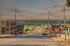 Sunday Morning. (LarryHB) Tags: street travel urban horizontal photography dawn illinois cityscape 2016