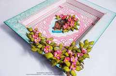 Birds & bloom frame close up 2 (Nupur Creatives) Tags: heartfelt creations heartfeltcreations