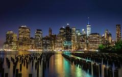Manhattan Skilyne (Minieri Nicola) Tags: city landscape notte architettura paesaggio noght longexposition lungaesposizione skilyne