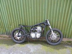 IMG-20160605-WA0001 (digyourownhole) Tags: vintage honda motorcycle restoration caferacer cb550 bratt buildnotbought