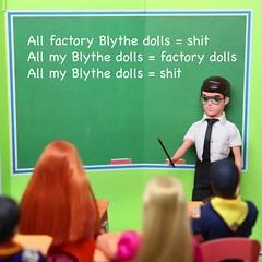 #FactoryGirls (MyLifeInPlastic.com) Tags: china girls girl japan doll dolls factory fake blythe counterfeit wataru blythes