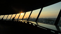 sundown. (cate) Tags: sunset silhouette tokyo sundown