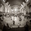 Grand Central Terminal I (Stefan K0n@th) Tags: nyc newyork square manhattan grandcentralstation longtimeexposure peleng8mmf35 circularfisheye
