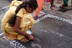 Lotsa dots kolam.jpg (melissaenderle) Tags: festival tamilnadu kolam asia mylapore