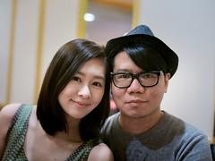 Nikki & Alex (Randy Wei) Tags: portrait 35mm fujifilm f095 zhongyi xe1 mitakon
