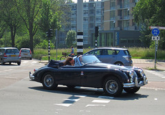 1959 Jaguar XK150 3.4 Drophead Coup (rvandermaar) Tags: jaguar import 34 coup 1959 xk150 xk drophead jaguarxk jaguarxk150 sidecode1 am2467