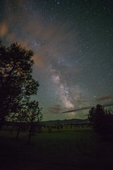 Milky Way over the Bighorn Mountains