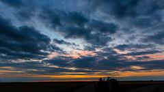dusk in bavaria (++sepp++) Tags: clouds germany de landscape bayern deutschland bavaria dusk wolken dmmerung landschaft graben abendlicht lechfeld
