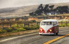 VW (mokastet) Tags: california vw volkswagen highway highway1 hdr vwbus mokastet