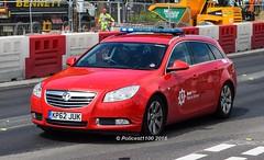Kent Fire & Rescue Vauxhall Insignia KP62 JUK (policest1100) Tags: rescue fire kent insignia vauxhall juk kp62