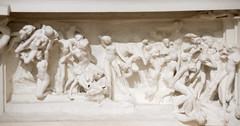 Tmpano de La Puerta del Infierno (roshua_quest) Tags: plaza sculpture art mxico arte escultura museo mx rodin auguste carso ciudaddemxico soumaya
