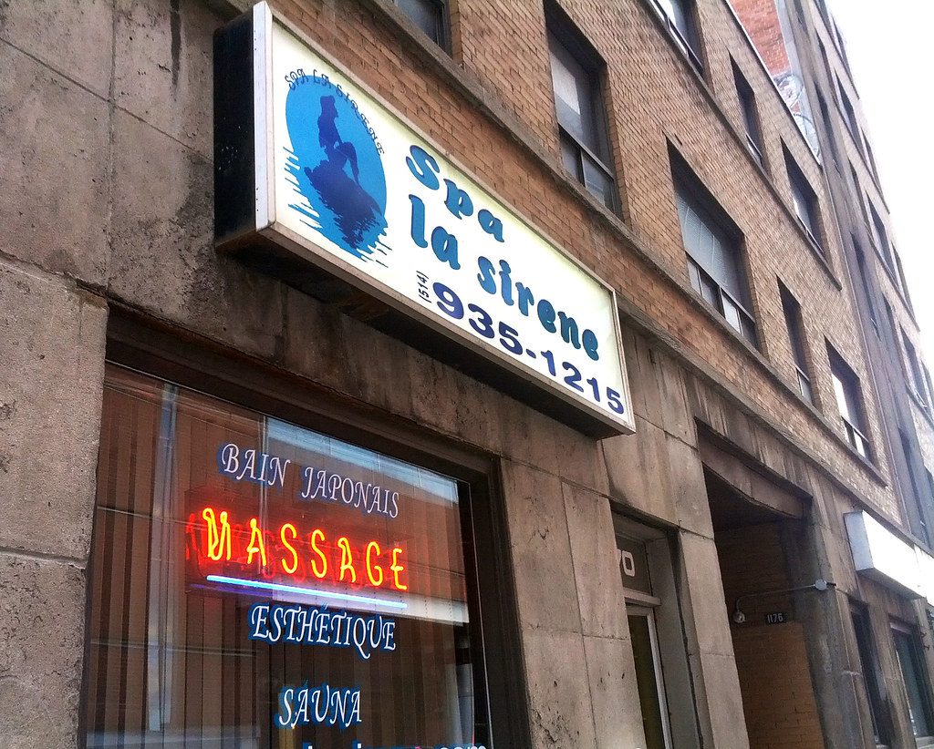 massage parlor steam bath services boise