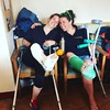 1329056584 (cb_777a) Tags: broken leg ankle foot cast crutches toes ireland