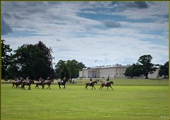 Plus ca change ... Polo at The Academy (Hector Patrick) Tags: fujifilmx100t sandhurst polo flickrelite twop