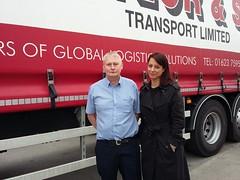 Alan Taylor and Gloria