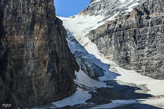 Victoria glacier (mzagerp) Tags: road trip usa canada rockies rocheuses etats unis mzagerp banff national park lake louise moraine lac emerald meraude plain six glaciers columbia icefield glacier