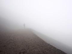 (Steve only) Tags: olympus pen ep5 panasonic lumix g vario 14714 asph 7144 714mm f4 m43 snap mist mountain fujisan japan  hiking