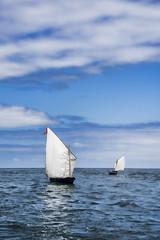 Sailing (Palentino) Tags: barcos ships sail navegar vela mar sea cantabrico cielo sky nubes clouds zumaia