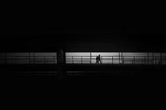 ...friendsonline... (ines_maria) Tags: urban bridge contrast light vienna danube black sky silhouettes