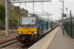 DRS 68022 - Edinburgh Waverley (Neil Sutton Photography) Tags: 68022 abellio beaconrailleasing caterpillarc175 class68 drs dieselelectric diesellocomotive directrailservices edinburgh edinburghwaverley eurolight fifecircle railway scotrail scotland scotlandsrailway train uklight vossloh loco locomotive unitedkingdom