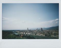 Veduta di Firenze da piazzale Michelangelo (Giulia/foto) Tags: veduta firenze piazzale michelangelo arno fiume lomo instant wide fuji instax