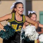 B Lip B-Team Cheer @ Game v HHall 9-29-16