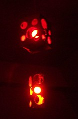 Small cardboard box lantern (irecyclart) Tags: boxes cardboard lantern lights