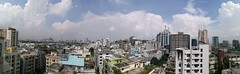 View from hotel Canary (Silver Blu3) Tags: skyline gulshan panorama dhaka bangladesh sky cloud