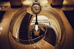 09.28.16 (Matthew Tsang) Tags: lobby royalyork hotel spiral staircase